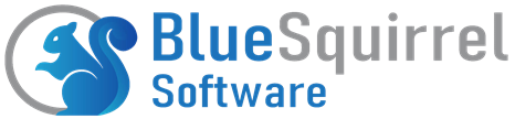 Blue Squirrel Logo